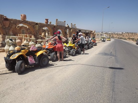Vincci Resort Djerba: sortie quad avec ALIBABA