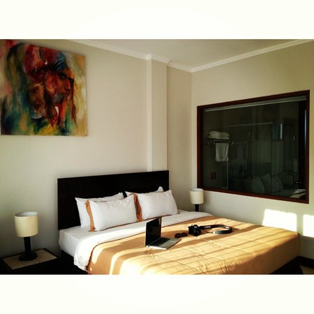 Kuta Town House Apartments: Studio room