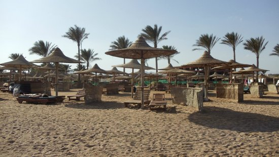 Oriental Resort Sharm El Sheikh: beach outside hotel