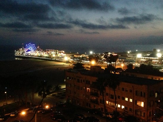 Loews Santa Monica Beach Hotel: Beautiful view from patio