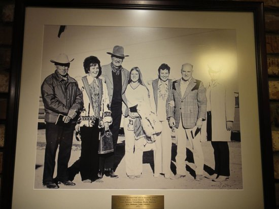 Madonna Inn: The Madonna's and John Wayne!