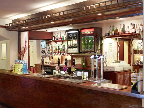 Appleby Magna, UK: Bar And Restaurant