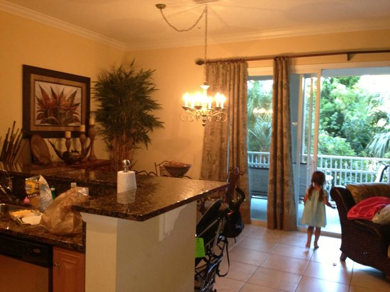 Hammock Beach Resort: condo kitchen