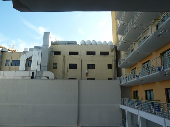 InterContinental Malta: View from balcony 1