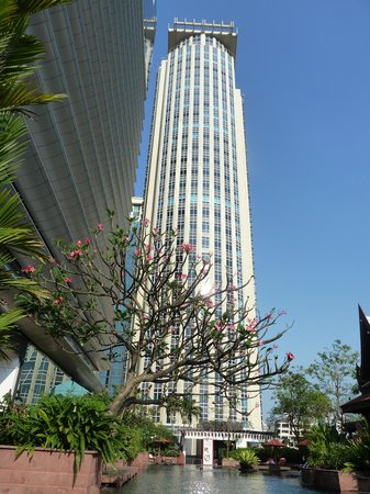 Le Meridien Bangkok: dalla piscina