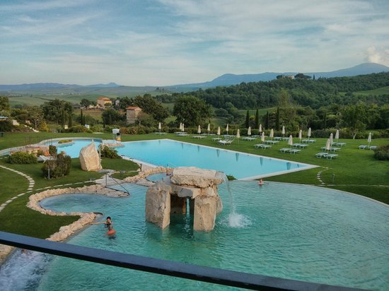Piscina Termale Esterna Picture Of Hotel Adler Thermae
