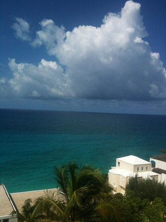 Cupecoy Bay, St-Martin / St Maarten: Room with a view,