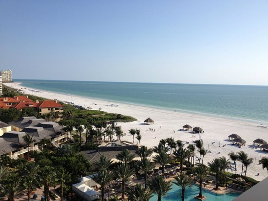 Marco Island Marriott Resort, Golf Club & Spa: view from our terrace