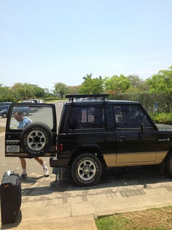 JW Marriott Guanacaste Resort & Spa Costa Rica: Leaving with driver Daniel Campos