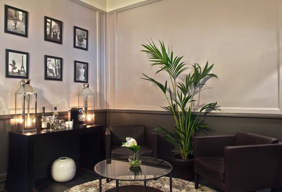 BEST WESTERN Elysees Paris Monceau: Lounge Bar