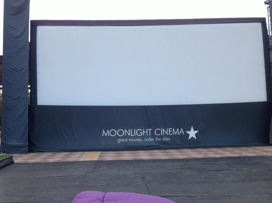 Lopesan Costa Meloneras Resort, Spa & Casino: Moonlight Cinema