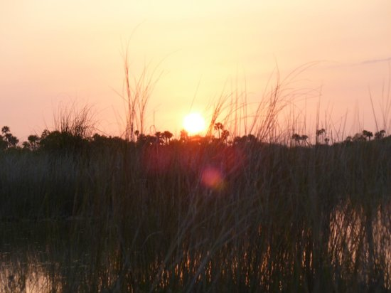 Everglades City, FL: Sonnenuntergang