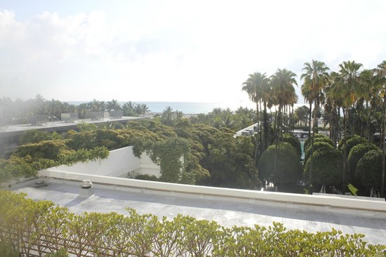 Delano South Beach: View from balcony