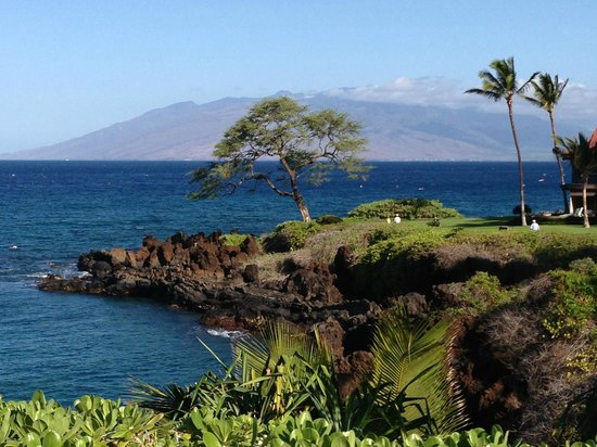 Wailea Beach Marriott Resort & Spa : Beautiful vistas from the walking path along the beach