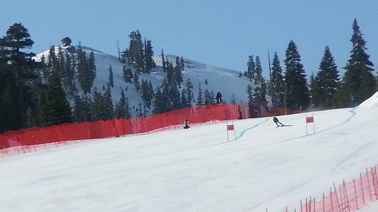 Olympic Valley, : Super G at Squaw Valley