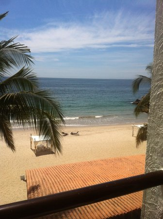 Dreams Puerto Vallarta Resort &amp; Spa: View from our Room on 3rd floor