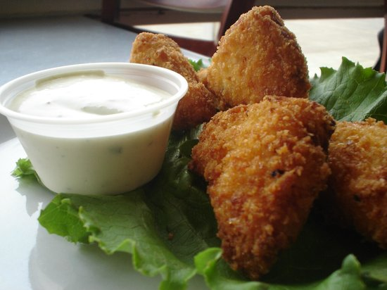 Salem, OR: Deep Fried Mac &amp; Cheese Appetizer