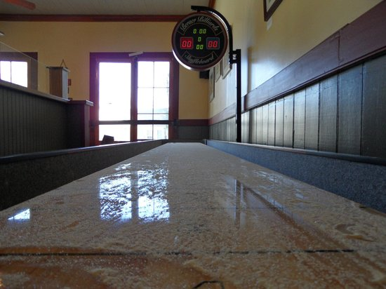 Volcano, CA: Got Game?  We have a slick shuffleboard table for you to enjoy!