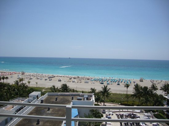 Ritz-Carlton South Beach: View from Balcony of Suite 923
