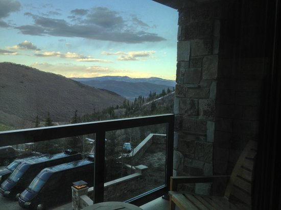 The St. Regis Deer Valley: View out East from our room
