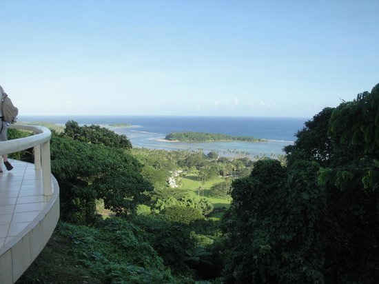 Koro Sun Resort: View from owners residence