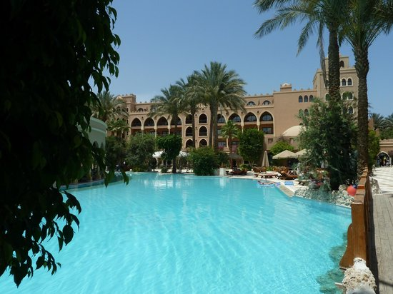Makadi Palace: One of Three large free form pools