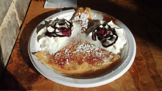 High Point, NC: Crêpe Suzette Specialty of the House!