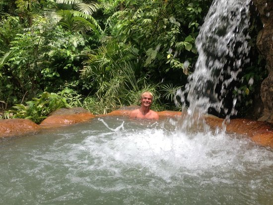 The Springs Resort and Spa at Arenal: One of the hot baths by the river