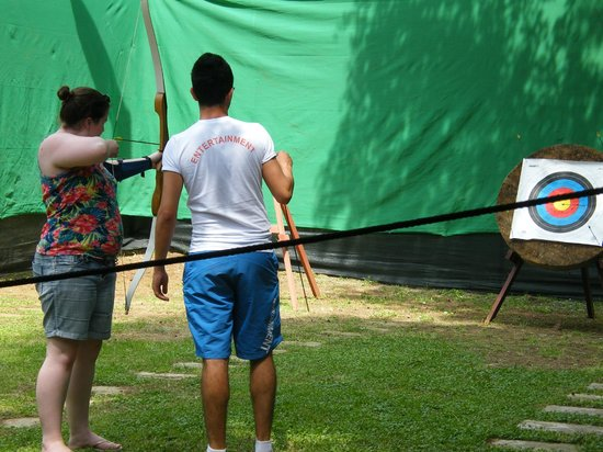 Marmaris Imperial Hotel: Free archery lesson and tournament at the hotel