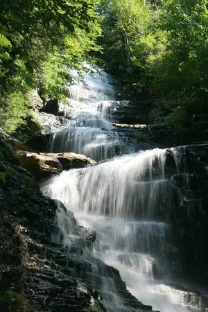 Londonderry, VT: Lye Brook Falls