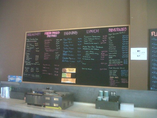 Somerville, MA: menu