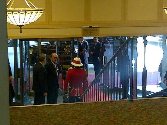 The Fairmont Royal York: Chance sighting of Prince Philip