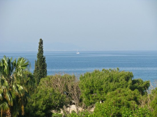 Glyfada, Grce : view from our balcony 