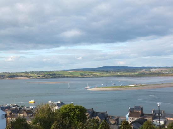 Youghal, Irland: View from bedroom
