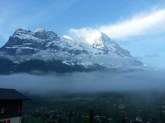 Jungfrau Lodge Swiss Mountain Hotel: View from our room 1