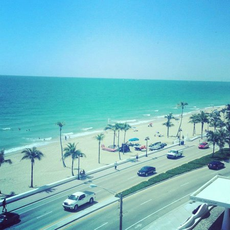 The Westin Beach Resort & Spa, Fort Lauderdale: Our view!