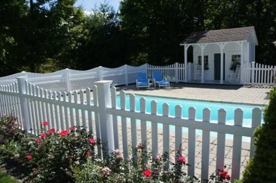 Castleton, Вермонт: A swimming pool at a Vermont B&B?  How unusual!
