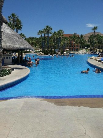 Melia Cabo Real All-Inclusive Beach & Golf Resort: lovely pool