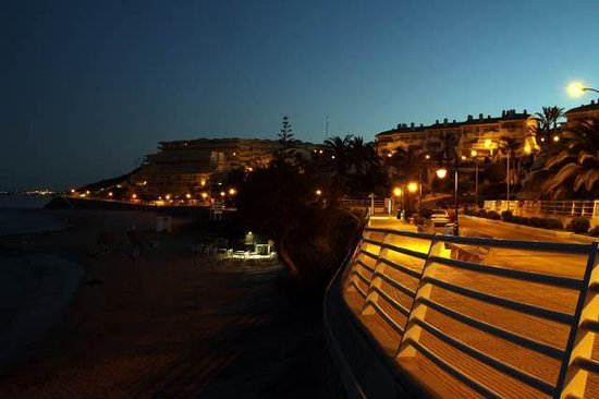 Cabo Roig at night