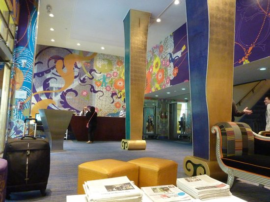 Hotel Triton - a Kimpton Hotel: funkiest reception area
