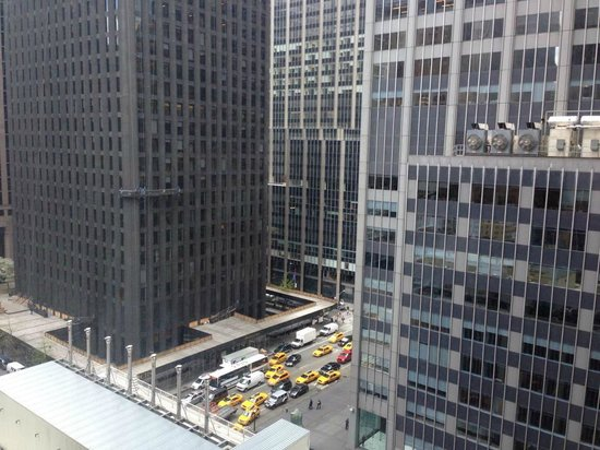 New York Hilton Midtown: photo was taken from the 12th floor