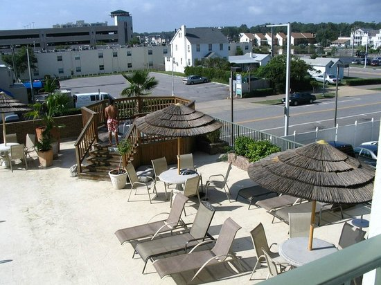 Days Inn Virginia Beach Oceanfront : coin repos..au spa  en (2010)