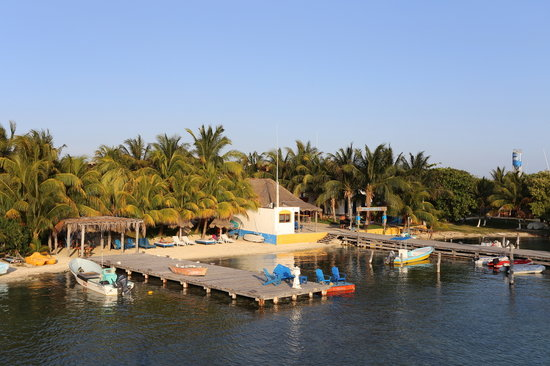 El Milagro Marina and Villas: El Milagro Private Beach &amp; Dock