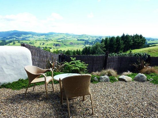 Waihi, Nya Zeeland: Private backyard