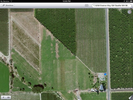 Zillah, WA: View from above