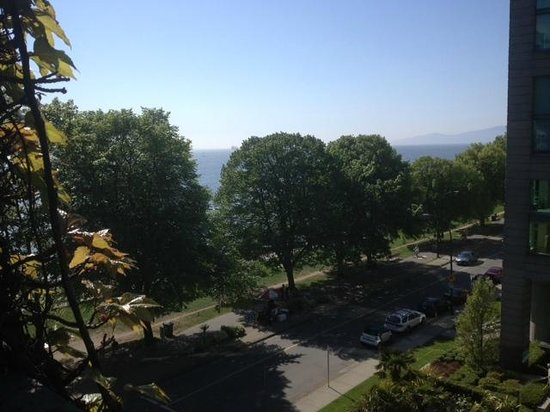 Sylvia Hotel: View of English Bay from 5th floor