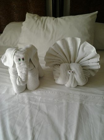 Posada Luna del Sur: Decorative Towels