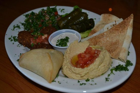 Morehead City, Carolina del Norte: Pita Plate Sampler