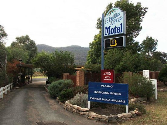 Halls Gap Motel: Entrance