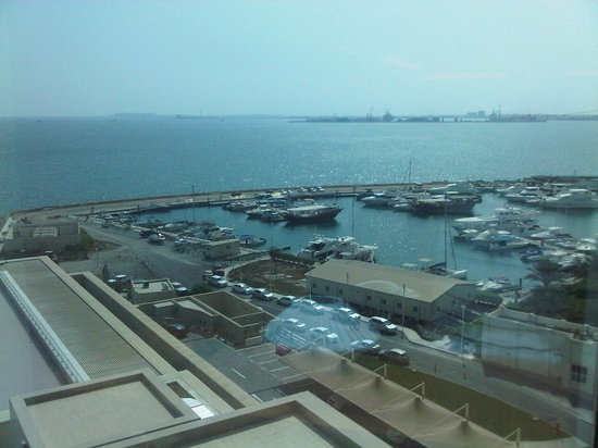 Hilton Doha: the view from the rooms